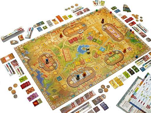 Компоненты игры «Сolosseum»