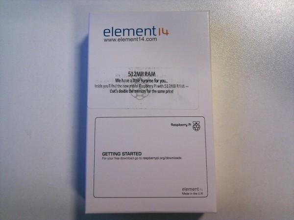 Коробочка element14