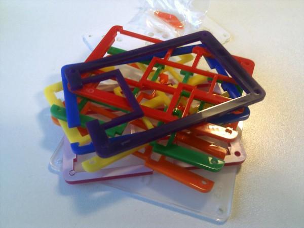Каждая пластинка своей хитрой формы